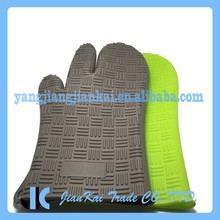100% Waterproof Cheap Silicone Oven Gloves With Fingers