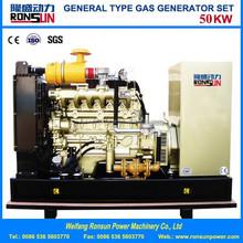 50kw natural gas/biogas generator set