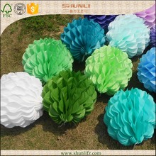 2015 wholesale birthday party accessory paper honeycomb ball