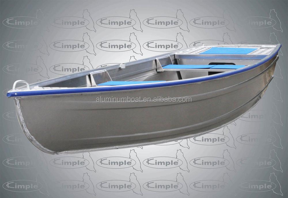 выбор лодки для рыбалки из алюминия