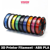 3d printer abs /pla Filament , 1.75mm/ 3.00mm pla /abs 3d printer filament for best selling