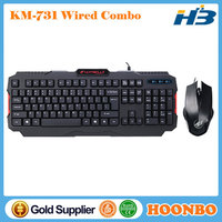 Supply High Quality Wired Mouse And Keyboard Combo, Wired Keyboard And Mouse