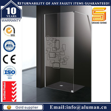 Customized sliding door shower enclosure made in china for hotel