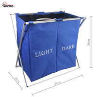 Best sale collapsible laundry basket for home or hotel/custom logo accept/welcome OEM