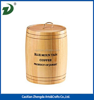 Small Wooden Barrel for Coffee Beans