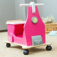 Pink Four-wheeled Motor