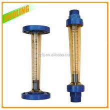Polysulfone Water Flow Meter Alkali Resisting liquid Flow Meter with cheap price