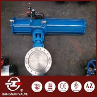 Wafer Butterfly Valve Pneumatic Triple eccentric