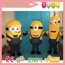 2015 Ciao ce nuovo design minion costume mascotte, usato costumi mascotte per la vendita