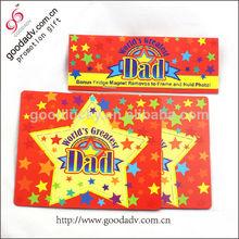 Fábrica que vende directamente el regalo promocional marco divertida magnético de la foto