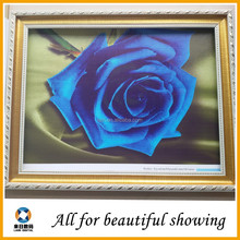 420g eco-solvent polyester&cotton canvas flower oil painting on canvas for living room Home wall decoration
