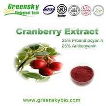 Cranberry Plant Extract,Cranberry Extract Anthocyanin,Natural Cranberry Fruit Extract (Proanthocyanidins 15%~70%)