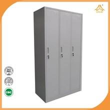 Factory direct sale wardrobe door lock with 2 keys and recessed handle locker