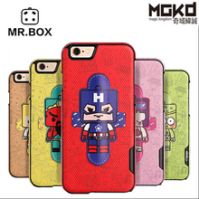 Hot sale Mr. Box Planet mobile phone case for iphone 6,mobile phone leather case