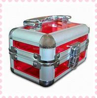 Clear acrylic aluminum case RZ-SA-035
