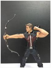 Newly designed marvel collection figure superhero hawkeye action figure