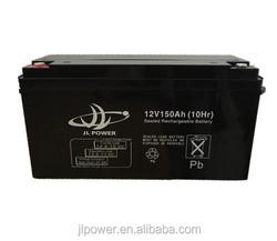 12v UPS battery 12v 150ah battery lead acid battery manufucturer in Guangzhou China