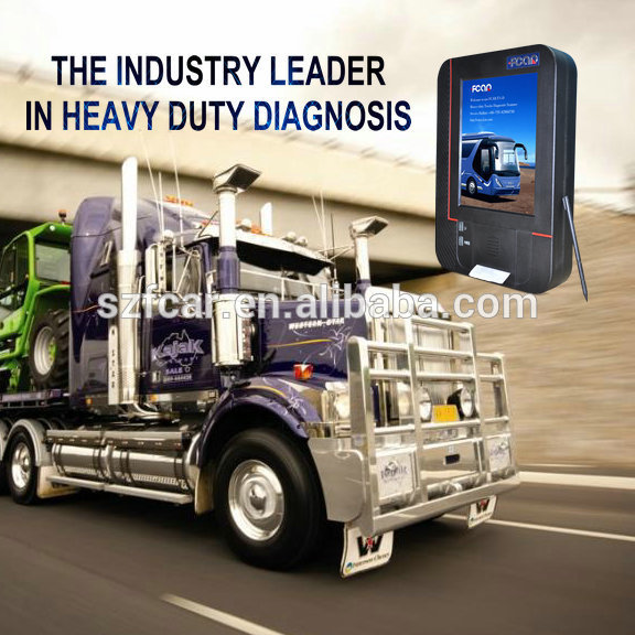 F3-d diesel truck diagnóstico scanners para Heavy duty truck diagnóstico FUSO FOTON internacional VOLVO RENAULT