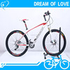 27.5'' Carbon Fiber Bicycle with F/R hydraulic oil brake/4 bearings in F/R hub Mountain Bicycle/Trekking Bicycle