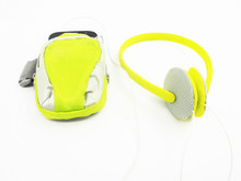 Top selling Colourful lightweight sports headphone with sport bag