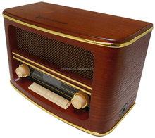 nostalgia retro AM/FM radio