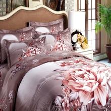 cashmere 6 pcs bedding sets home bedding set home textile print Soft feeling