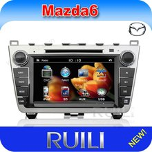"""2012 Excellent Quality New 8"""" Digital Touch Screen car audio cd player with GPS navigation special for mazda 6"""