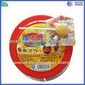 Caliente venta de caramelo con palo duro mango centro de relleno en forma de corazón pirulís/piruletas/chupa-chups caramelo