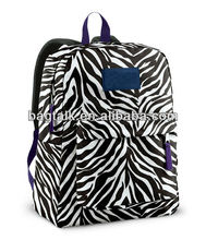 Zebra School Backpack For College Students