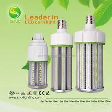 CFL MH HPS replacement dustproof led corn light,5 years warranty E26/E27/G24 parking garage lighting led corn light