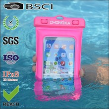 2015 new products waterproof bag for cell phone/waterproof phone pouch for iphone