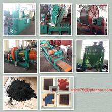 full automatic tire recycling machine used to make rubber powder / granule