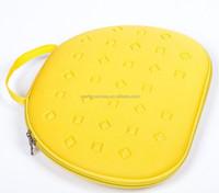 Zipper enclosure eva moulded travel cosmetic bag carrying case