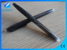 low price high quality plastic ball pen ink eraser,black erasable gel pen