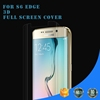 Full cover ultimate explosion-proof 3H Hardness TPU screen protector for S6 Edge ,Mobile accessory Samsung s6 edge
