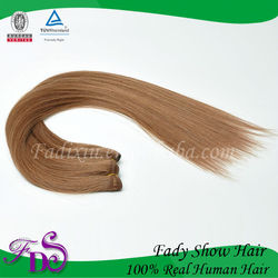 7A Top Quality Double drawn Brazilian/European/Indian 100% Remy Human Hair Extension