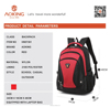 2015 new fashion school colourful nylon aoking backpack bags