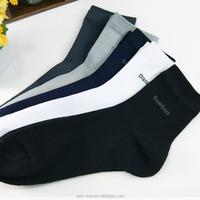 OEM Personality Design Man High Sock Cheap Thin Bamboo Sock