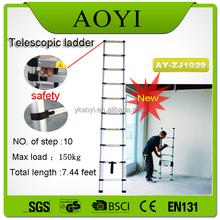 Ay Best selling china fornecedor escada telescópica máquina