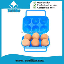 OEM 6 eggs container tray blister plastic egg tray