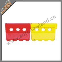 12.5kgs Plastic Three Holes Water Filled Barrier/Traffic Barrier