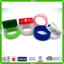 silicone team bracelets
