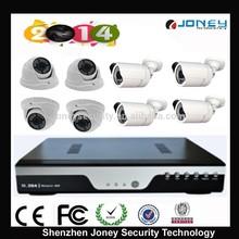 caliente DVR Kit !! 8pcs Megapixel 960P/ 720P AHD Camera + 1pc 8chs HD AHD DVR cámara kit de vigilancia doméstica