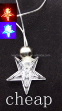 cheap star shaped led necklace 007