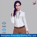 de alta calidad para damas camisas damas blanco camisa formal