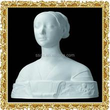 Tallado de piedra de yeso estatua