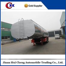 3 axle 50000 liters oil/petrol/fuel tank semi trailer, fuel tanker trailer for sale,heavy duty truck