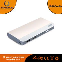 QC2.0 16800mAh mobile power bank for smart phone