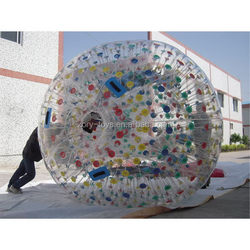 Newest new coming inflatable water wheel/roller