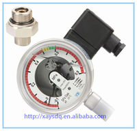 Bourdon tube pressure gauge for electrical cabinet seal used in High voltage electric cable equipment